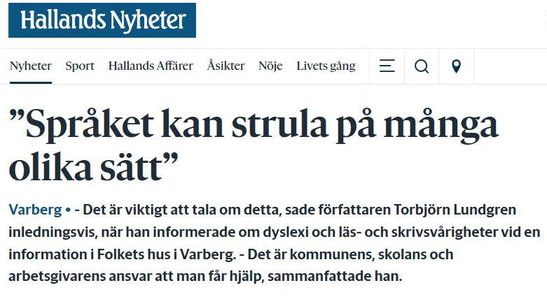 Tobbe Hallands nyheter