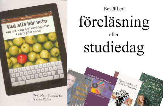 Bilder på några av mina böcker
