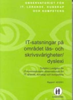 Bild på skriften med text på grön botten